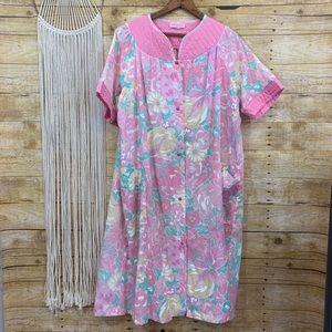 Vintage Heather Floral House Dress